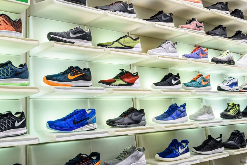 Nike donates over 3000 shoes